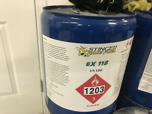 Race fuel stinger ex 118 octane oxygenated