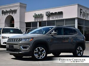 2019 Jeep Compass Limited 4x4 l CO CAR l HEATED LEATHER l