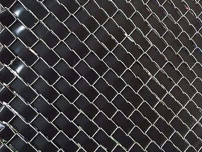 Privacy Fence Weave for Chain Link Fence - 250ft. Roll - BLACK Black Chain Link Fence