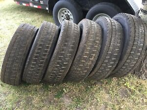 New HD tires off of Ford F550.