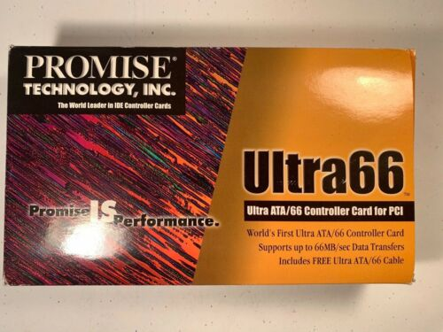 Vintage PROMISE Technology Ultra ATA/66 Controller Card for PCI   NOS
