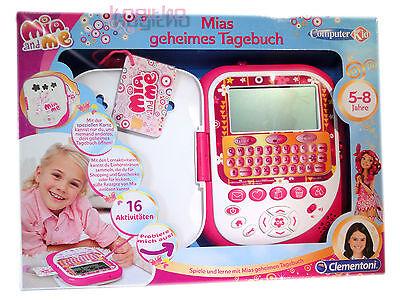 NEUOVP Clementoni Mia and Me geheimes Tagebuch Interaktiv Lernspiel Computer