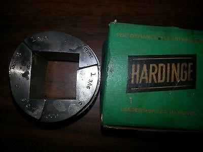 Hardinge S-20 1-316 Square Collet Pad Set Smooth