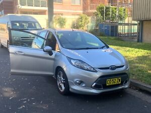2012 Ford Fiesta Zetec 6 Sp Automatic 5d Hatchback