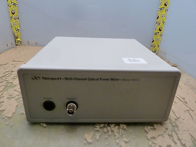 Newport Multi-channel Optical Power Meter 4832-c Cal Due 123116 14-h
