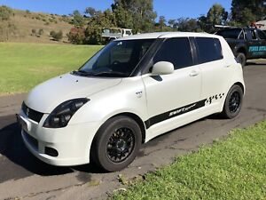 2006 Suzuki Swift 5 Sp Manual 5d Hatchback