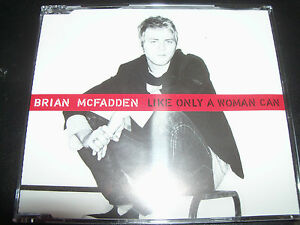 Brian-Mcfadden-Westlife-Like-Only-A-Woman-Can-Rare-Australian-CD-Single