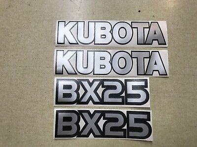Kubota Bx25 Hood Decals
