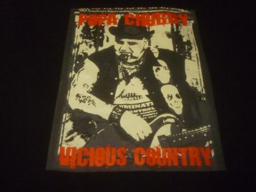Popa Chubby Shirt - Used Size XL - NEW DEADSTOCK