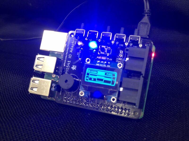 PiDRIVE Raspberry Pi HAT 1541 1581 Commodore 64 128 Vic-20 Emulator OLED Pi1541