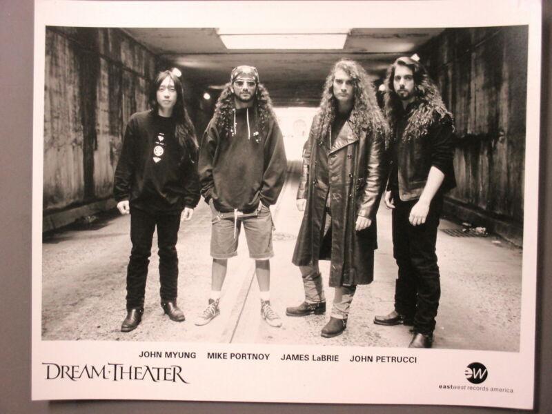 Dream Theater promo photo 8 X 10 black & white matte finish ORIGINAL tunnel !