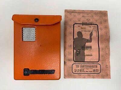 Vintage Tif Instruments Inc Tif Tector Halogen Leak Detector. New Batteries.