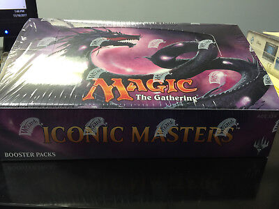 ICONIC MASTERS SEALED BOOSTER BOX X1 FREE SHIPPING