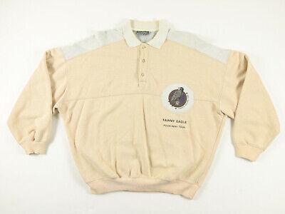 Tawny Eagle - TAWNY EAGLE YOSEMITE NATIONAL PARK STEFANEL Polo Button Up Sweatshirt Size L NR