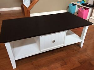 Chalk board coffee table or play table