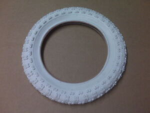 New Bike Bicycle Scooter Stroller Tire 12 1/2 x 2 1/4 White 12 x 2.125