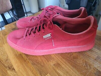 Puma Suede Classic Red UK 11