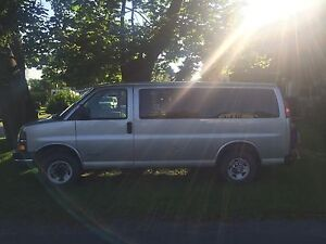 2006 Chevy Express 3500 - with wheel chair lift