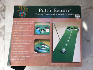 Club Champ Putt 'n Return Putting Green