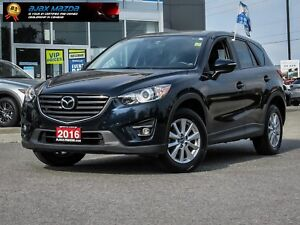 2016 MAZDA CX-5 GS AWD LUXURY PKG w/ LEATHER DEEP CRYSTAL BLUE