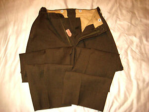 ... US-ARMY-MILITARY-UNIFORM-WOOL-PANTS-1952-SOUTHERN-ATHLETIC-COMPANY-32
