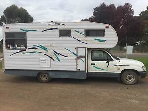 2004 Motorhome built by Hertz on a Toyota Hilux ute Hillston Carrathool Area Preview