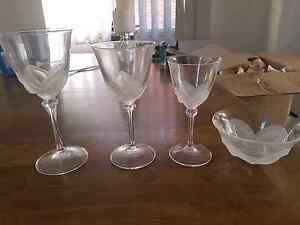 Crystal glass set Balgowlah Manly Area Preview