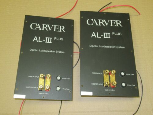 CARVER AL-III speaker pair of Cross over network part carver amazing