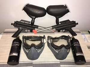 Paintball marker package