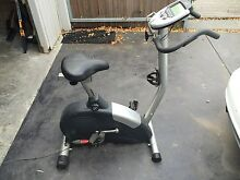 Electric exercise bike, barely used, very comfortable seat. Hawthorn Boroondara Area Preview