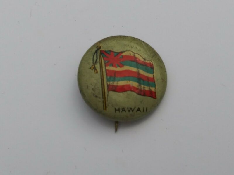 "Hawaii Sheffield Sealect ""A"" Pinback"