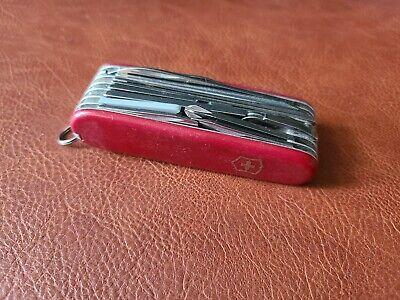 Vintage 1990s Victorinox SwissChamp Swiss Army Knife Good Condition! 019d