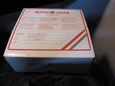 Rofin Sinar Co2 Laser Output Glass 820-3029-2 Rev L1 Coherent Laser Window