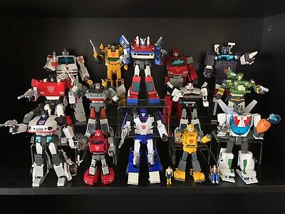 USA Transformers Masterpiece and 3rd Party Ultimate Lot of 15 Figures Authentic