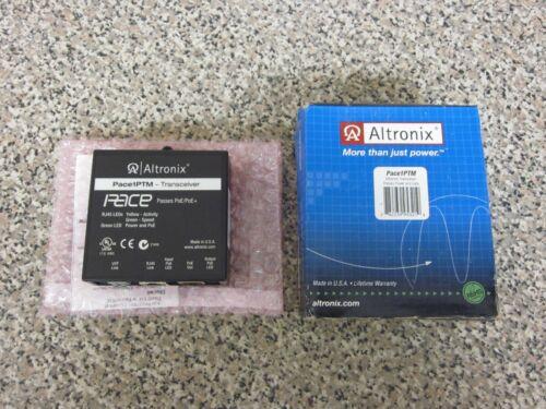New Altronix Pace1PTM IP PoE PoE+ UTP CAT5e Power Data Ethernet Transceiver