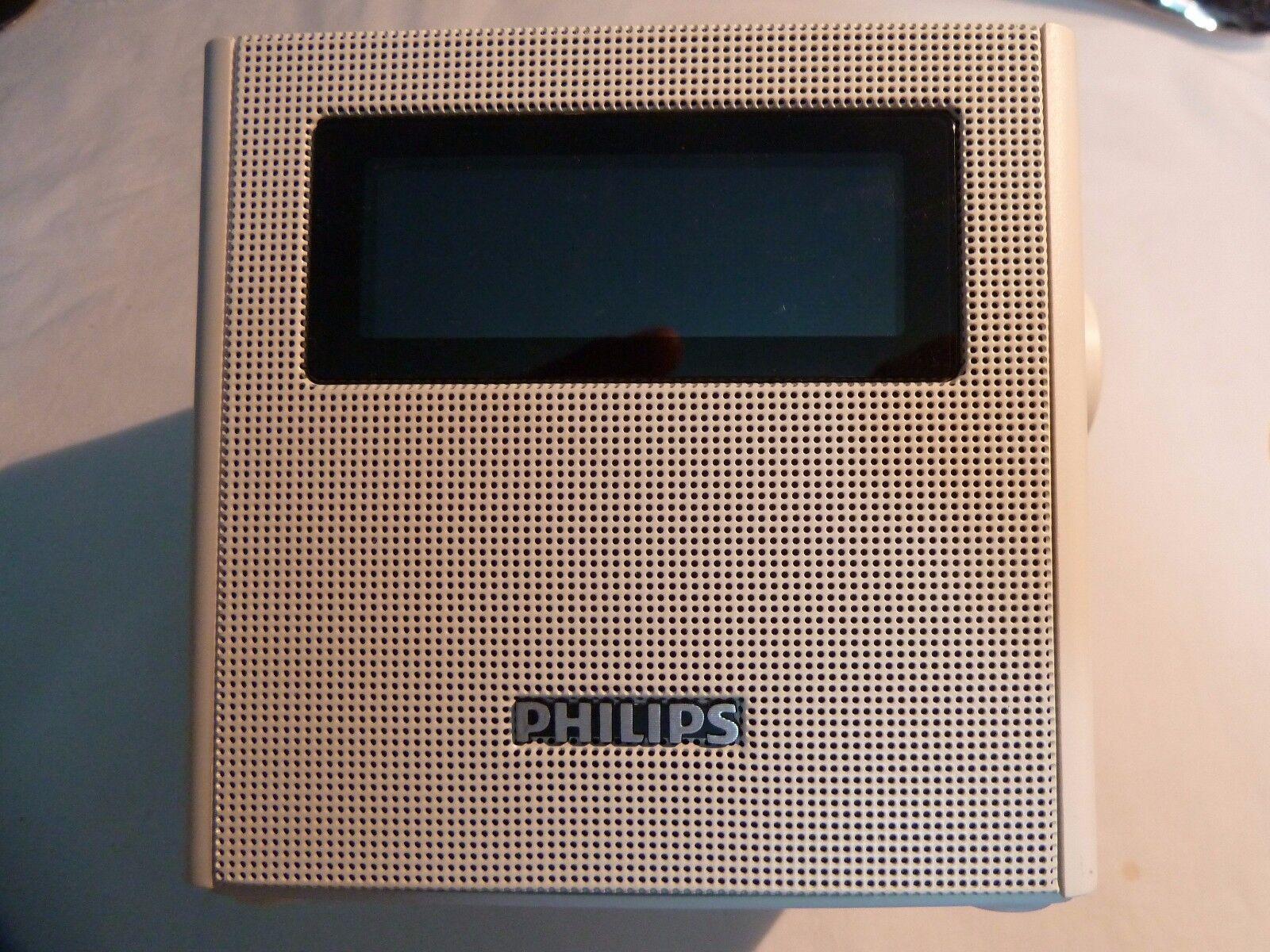 Philips AJB4300W/12 Clock Radio White GENUINE