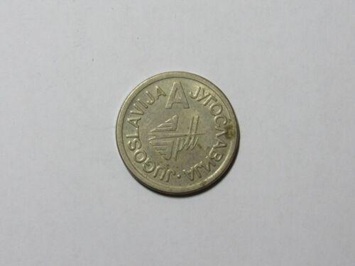 Old Token - Jugoslavija Megaplast A - Yugoslavia