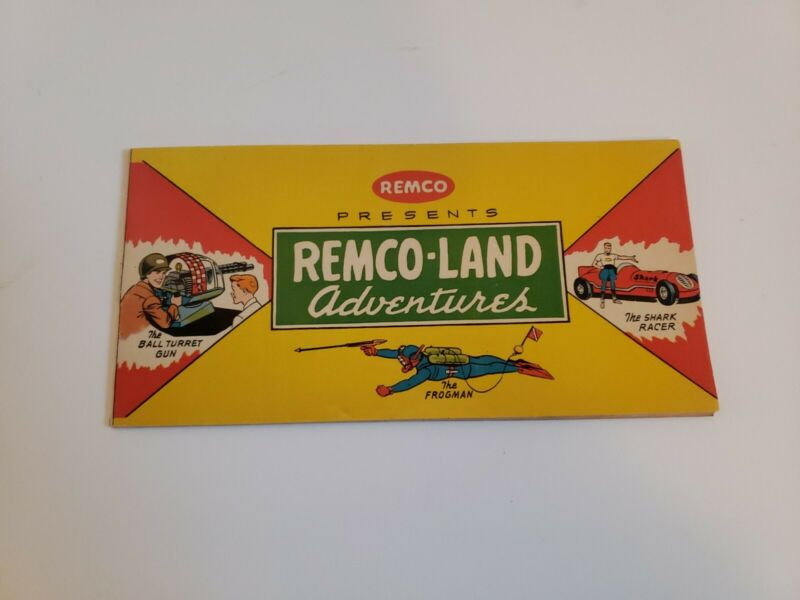 1961 Remco Presents Remco Land Adventures Comic Book And Catalog