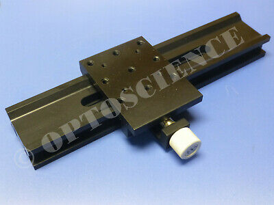New - Newport Optical Rail With Carrier 250mm Melles Griot Clone