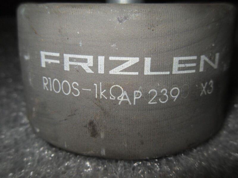 (V52-1) 1 FRIZLEN AP239 X3 R100S-1K OHM RESISTOR