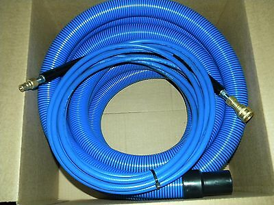 Carpet Cleaning 25ft Vacuum Solution Hoses Wqd Blue