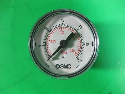 Smc Pressure Gauge 1.5 30psimpa 18 Npt Cbm -- 111.12 -- New