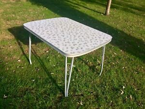 Retro style table from the 70's