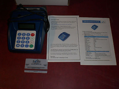 Sl Tech Pp3083 Pad Usb Credit Card Scanner Reader - Gen 4 - Working Pull