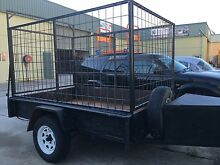 Box trailer 8' X 5' bike trailer go kart rubbish lawn mowing Emu Plains Penrith Area Preview
