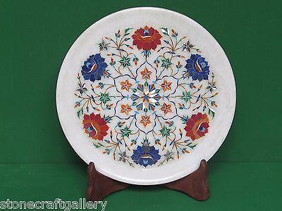 Декоративные тарелки Marble Plate Pietra Dura