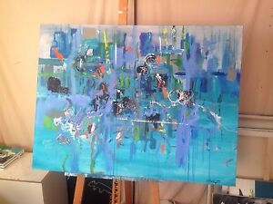 Abstract art- Dynamic and eye catching. Mawson Lakes Salisbury Area Preview