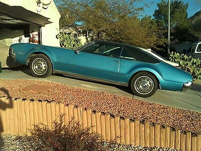 1966 Oldsmobile Toronado  1966 Oldsmobile Toronado SURVIVOR 1 previous owner 66K orig rund good NO RESERVE