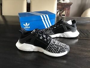 Adidas EQT Support 93/17 Oreo Black/White Size: 8.5 US