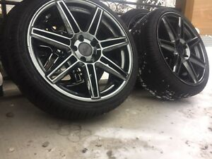 Nitchie Rims & brand new low profile Tires